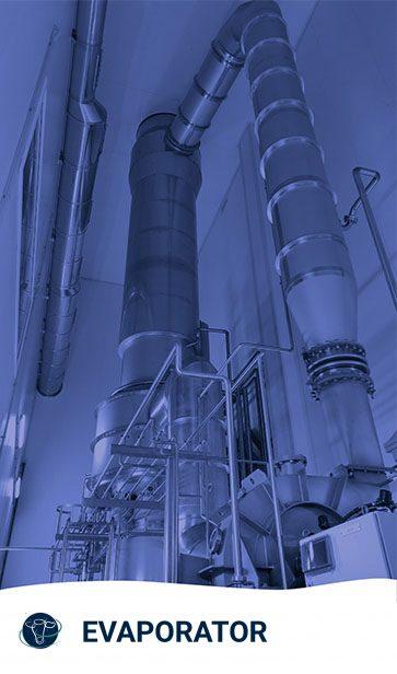 IMG evaporator