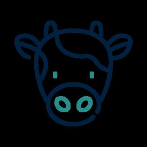 icono vaca galacteum